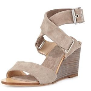 Rag & Bone Wedge Suede Sandals Never Worn Outside